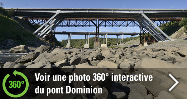 360 degrés - Pont Dominion