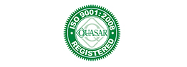 Quasar ISO 9001:2008 - Registred