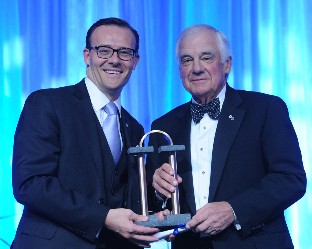Marcel Dutil of Canam Group inducted into the Académie des