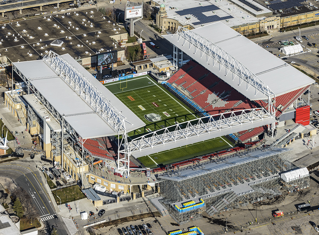 Bmo Field In Toronto Receives An Award Of Merit From Enr